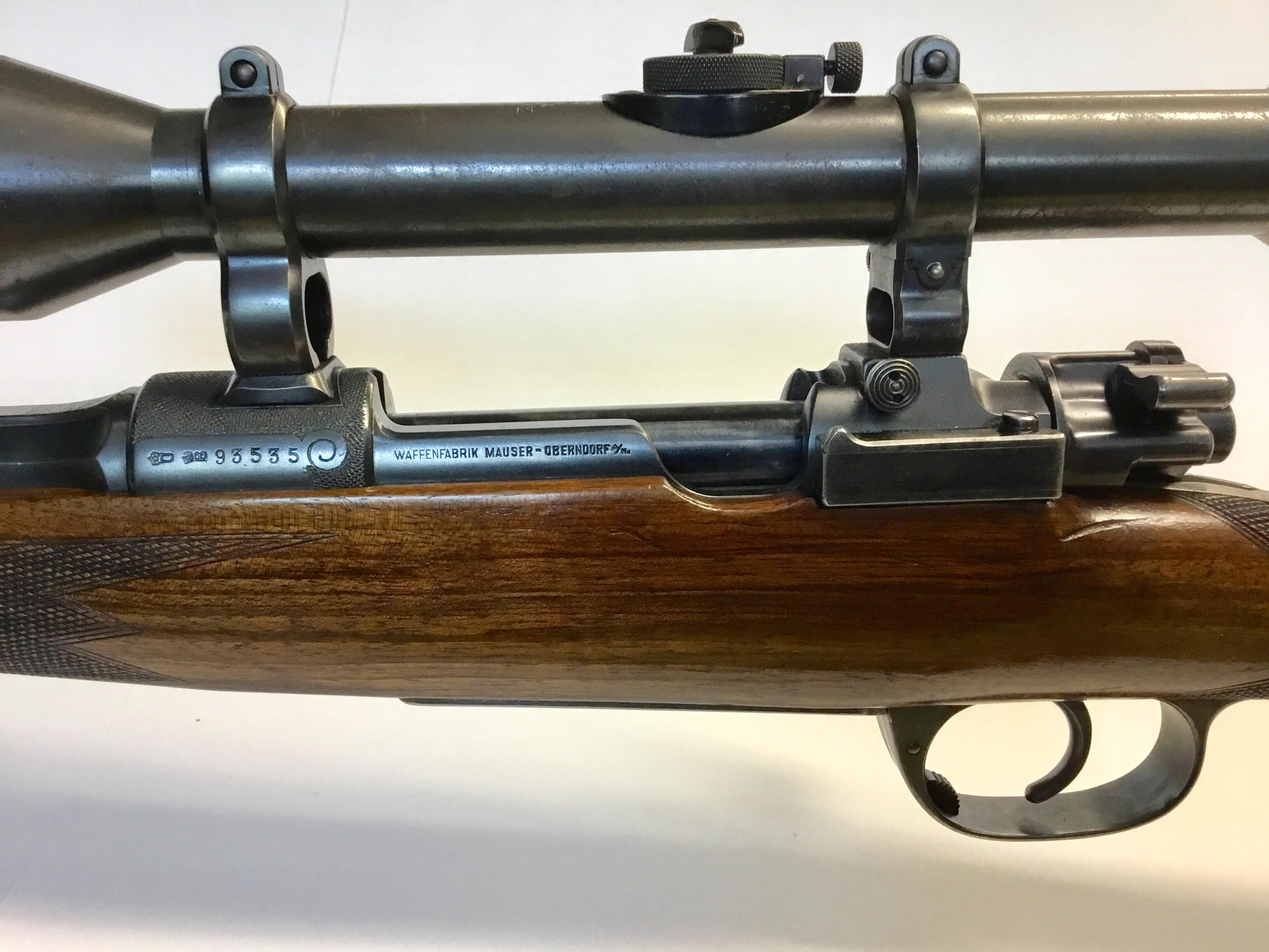 Deluxe Pre War Mauser Commercial Sporter Type B Rifle w/ Original