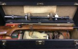 Fabulous Winchester Model 52C Target Rifle w/ 14x Unertl Scope & Complete Badger Shooting Box w/ Accessories - 1950's Vintage