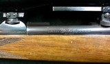 Weatherby Sauer GermanJuniorModel 224 Wby Mag w/ Claw Mount Scope - Double Set Triggers