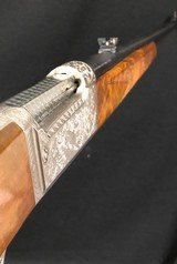 Savage Model 99M Grade PE in 284Win Caliber - Gun is As New Condition! Engraved - 4 of 12
