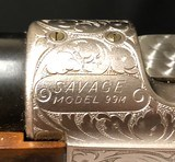 Savage Model 99M Grade PE in 284Win Caliber - Gun is As New Condition! Engraved - 12 of 12
