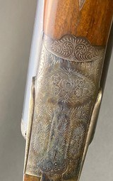 UNION ARMERA MODEL 211 SIDELOCK SXS SHOTGUN - 12GA - GOLD PLATED INTERNALS - - 6 of 15