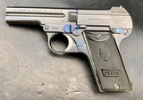 SPECTACULAR LIKE NEW STEYR 1908 PISTOL SEMI-AUTO W/ TIP-UP BBL 7.65 CAL