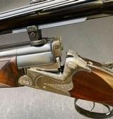 RENATO GAMBA COMBINATION GUN 12GA X 6.5x57 W/ CLAW MOUNT ZEISS SCOPE - 1 of 14