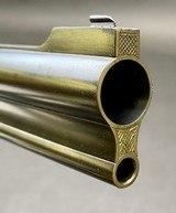 RENATO GAMBA COMBINATION GUN 12GA X 6.5x57 W/ CLAW MOUNT ZEISS SCOPE - 11 of 14