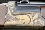 RENATO GAMBA COMBINATION GUN 12GA X 6.5x57 W/ CLAW MOUNT ZEISS SCOPE - 9 of 14