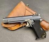SIG 210 MILITARY PISTOL 9MM 9X19 W/ HOLSTER - BEAUTIFUL GUN