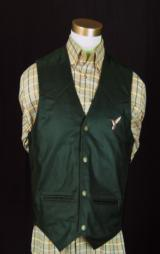 Famars USA Men's Leather Vest