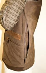 FAMARS USA Men's Two-Toned Nubuck Leather Vest - 2 of 2