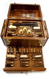 FAMARS Black Walnut Beautiful Cleaning Kit for 12, 16, 20, 28, and .410 gauge shotguns - 1 of 3