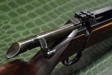 J.P. Sauer & Son Model 200 Bolt Action Rifle with Schmidt & Bender Scope, Carved Stock and Case - 21 of 23