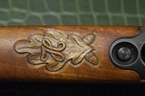 J.P. Sauer & Son Model 200 Bolt Action Rifle with Schmidt & Bender Scope, Carved Stock and Case - 11 of 23