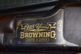 BEAUTIFUL GOLD INLAID B-25 125TH ANNIVERSARY BROWNING SUPERPOSED 12 Ga. - 8 of 11
