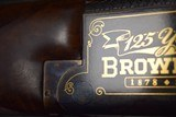 BEAUTIFUL GOLD INLAID B-25 125TH ANNIVERSARY BROWNING SUPERPOSED 12 Ga. - 8 of 13