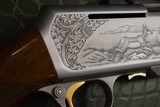 """Master Engraved """"VRANCKEN"""" Signed Belgian Browning Grade IV BAR Semi-Automatic Sporting Rifle 30.06 with Scope Base and Rings - 14 of 16"""