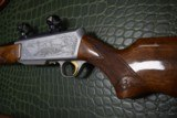 """Master Engraved """"VRANCKEN"""" Signed Belgian Browning Grade IV BAR Semi-Automatic Sporting Rifle 30.06 with Scope Base and Rings - 10 of 16"""