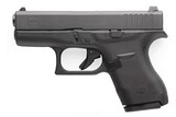 "Glock G42 , 380 ACP, 3.25"" Barrel, Modular Synthetic Grip, Black Finish, 6 + 1 Rd, Fixed Sights - 2 of 2"