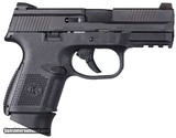 FN FNS-40 Smith & Wesson (S&W), 3.6? Barrel, 14+1 Rounds, Black Polymer Grip, Black - 2 of 2