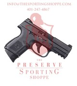 FN FNS-9 Compact, 9mm, 3.6? Barrel, 17+1 Rounds, Black Polymer Grip, Black Finish - 1 of 2