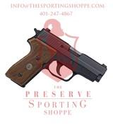 Sig Sauer P225, 9mm Luger, 3.6? Barrel, 8+1 Round, Wood Grip, Black
