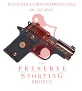 Sig Sauer, P238, .380 ACP, 3? Barrel, 7+1 Rounds, Black G10 Grip Rose Gold PVD Stainless Steel