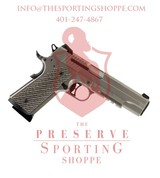"Sig Sauer, 1911 Full Size, .45 ACP, 5"" Barrel, 8+1 Rounds, Brown G10 Grip Nickel PVD Stainless Steel"