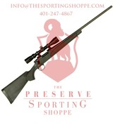 Remington, 700 ADL with Scope, Bolt Action, .243 Winchester 24? 4+1 Synthetic Black Stk Blued