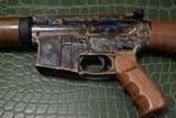 "Turnbull, TAR-15 Rifle, 5.56 NATO, 18"" Barrel, Wood Stock"