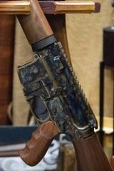 "Turnbull, TAR-15 Rifle, 5.56 NATO, 18"" Barrel, Wood Stock - 23 of 24"
