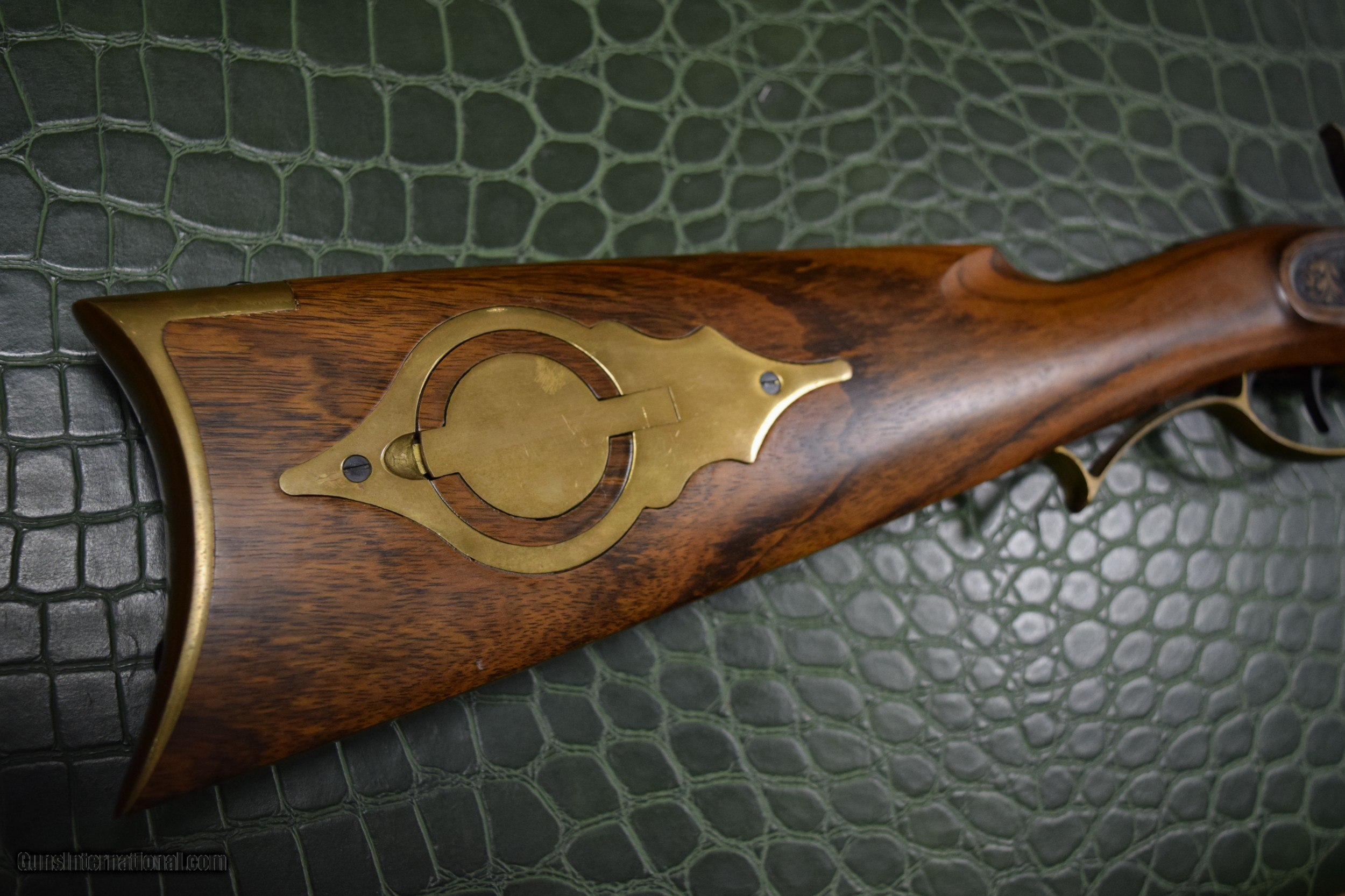 Octagon Barrel Black Powder Rifle