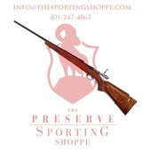 BROWNING SAFARI MODEL BOLT ACTION RIFLE WITH HIGHLY FIGURED CHECKERED STOCK .222 Cal