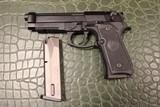 Beretta, M9A1, 9mm, 4.9