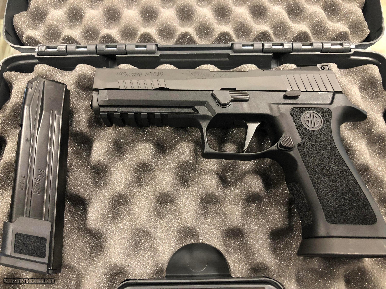 Sig Sauer, P320 X5, 9mm, Black Frame, Black Grips