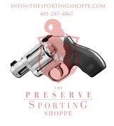 Kimber K6S, .357 Magnum, 6-Shot Revolver, 2 Barrel, Black Rubber Grips