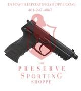 """H&K HK45T Tactical V1 Semi Auto Pistol .45 ACP 5.2"""" Threaded Barrel 10 Rounds"""
