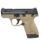 "S&W M&P Shield Semi Automatic Pistol 9mm Luger 3.1"" Barrel 7/8 Rounds"