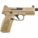 """FNH FN-509 Tactical 9mm Luger Semi Auto Pistol 4.5"""" Threaded Barrel 17 Rounds"""