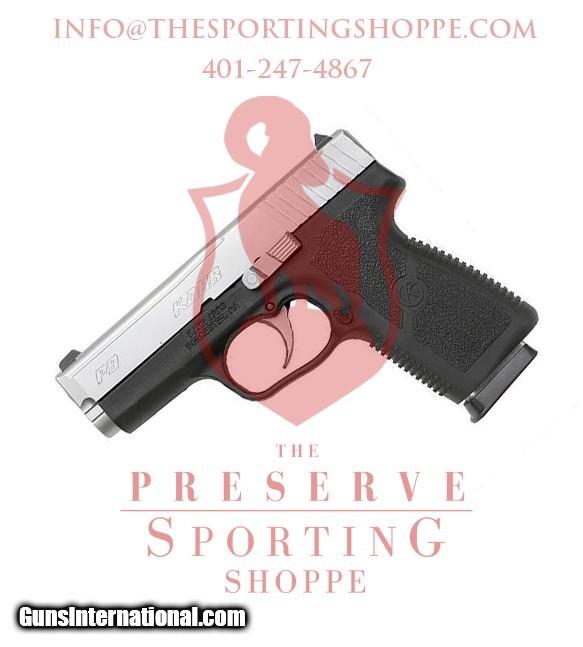 Kahr Arms P9 Semi Automatic Handgun 9mm Luger 3 5