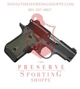 Kimber Micro 9 Woodland Night 9mm with OD Green Crimson Trace Red Lasergrips