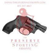 "S&W Model 442 Revolver .38 Special +P 1.875"" Barrel 5 Rounds"