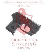 """Ruger LCP Semi Auto Pistol .380 ACP 2.75"""" Barrel 6 Rounds w/ Viridian E-Series Red Laser"""