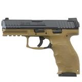 """Heckler & Koch VP FDE Semi Auto Pistol 9mm Luger 4.09"""" Barrel 15 Rounds"""