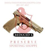 Smith & Wesson M&P 40 M2.0 Double .40 S&W FDE (REDUCED)