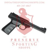 "Browning Buck Mark Camper UFX Semi Auto Pistol .22 LR 5.5"" Tapered Bull Barrel 10 Rounds"