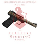 "Browning Buck Mark Camper Semi Auto Pistol .22 LR 5.5"" Tapered Bull Barrel 10 Rounds"