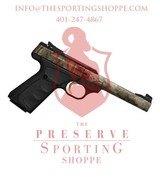 "Browning Buck Mark Camper Semi Auto Pistol .22 LR 5.5"" Tapered Bull Barrel 10 Rounds"