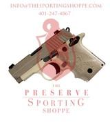 "SIG Sauer P238 Desert Semi Automatic Pistol .380 ACP 2.7"" Barrel 6 Rounds"