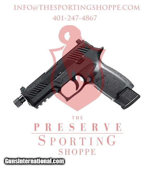 Sig Sauer P320 Tacops 9mm Luger 4 6