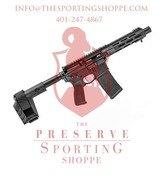 Springfield Armory Saint 5.56/.223 Pistol 7.5in. 30rds Black SBX-K