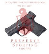 Smith & Wesson M&P 9 Shield M2.0 Double 9mm, Black - 1 of 2